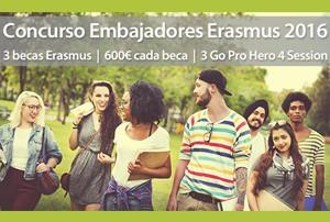 Concurso embajadores Erasmus